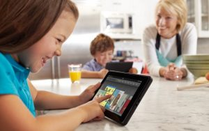 tablet dannoso per i bambini