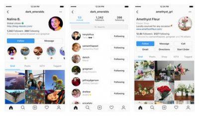 Instagram nuova interfaccia