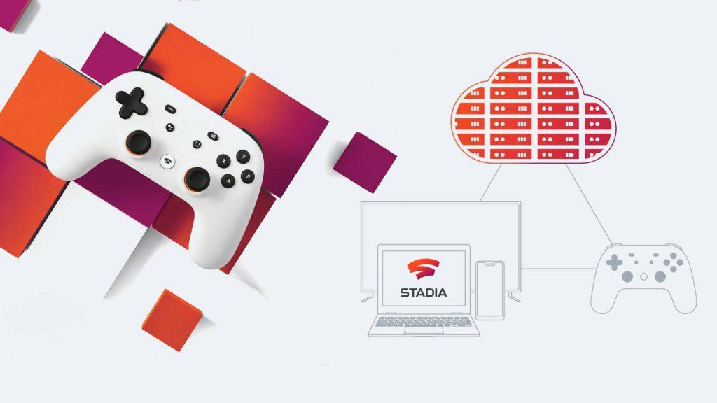 Stadia Server 600 milioni